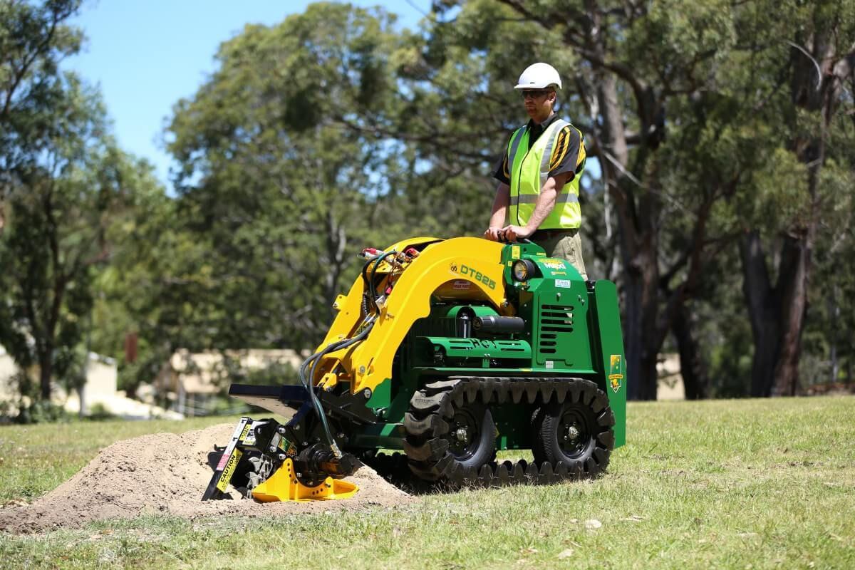Why Purchase a Mini Digger?